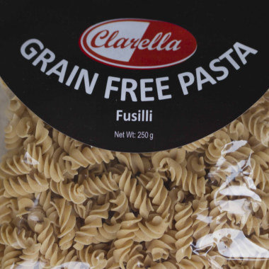 Gluten Free Pasta, Pizza Bases and Wraps